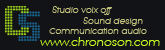Chronoson, studio voix off, sound design et communication sonore à Grenoble
