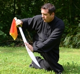 David Florentin, professeur au Taiji Wushu Club Grenoble
