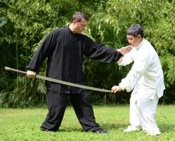 Maitre Wen et David Florentin