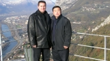 m. zhang dong wu and david florentin in grenoble